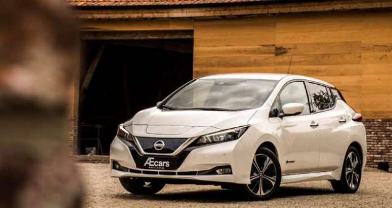 Nissan Leaf N-CONNECTA - 40KWH - BELGIAN CAR - 1 OWNER Blanc occasion à IZEGEM