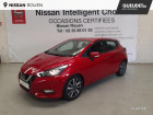 Nissan Micra 0.9 IG-T 90ch Made In France 3 2018 Euro6c Rouge à Rouen 76