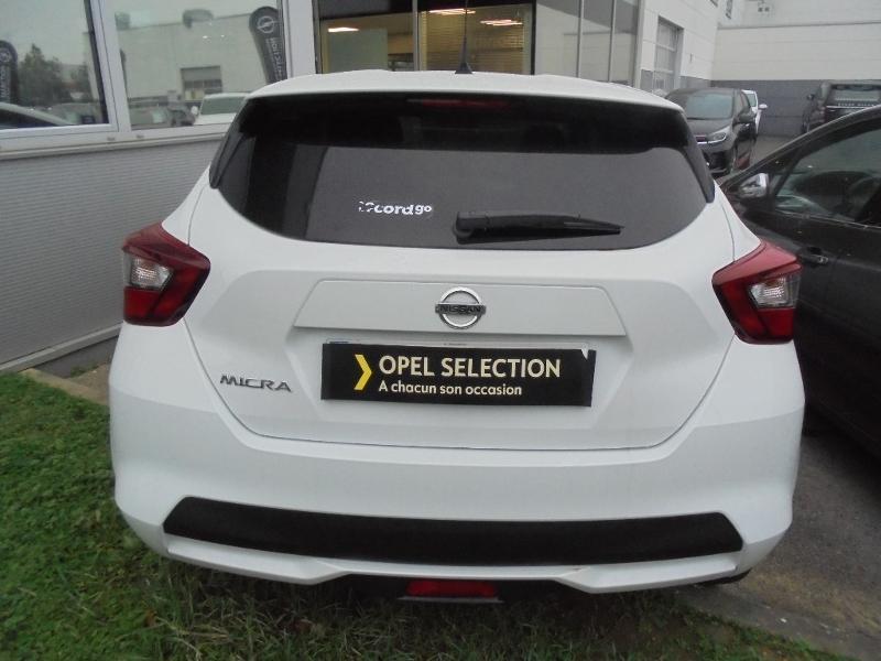 Nissan Micra 0.9 IG-T 90ch N-Connecta GPS Blanc occasion à Samoreau - photo n°20