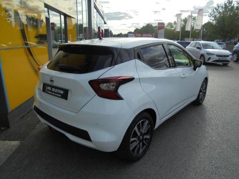Nissan Micra 0.9 IG-T 90ch N-Connecta GPS Blanc occasion à Samoreau - photo n°3