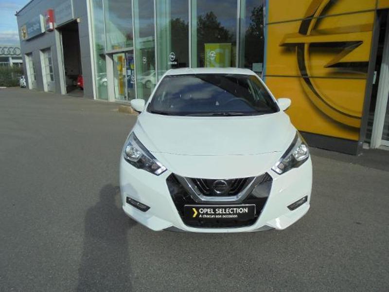 Nissan Micra 0.9 IG-T 90ch N-Connecta GPS Blanc occasion à Samoreau - photo n°7