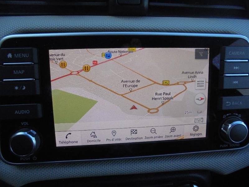 Nissan Micra 0.9 IG-T 90ch N-Connecta GPS Blanc occasion à Samoreau - photo n°2