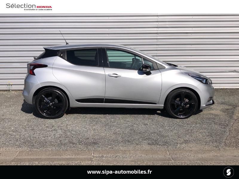 Nissan Micra 1.0 IG-T 100ch N-TEC Xtronic 2020 Argent occasion à Mérignac - photo n°4