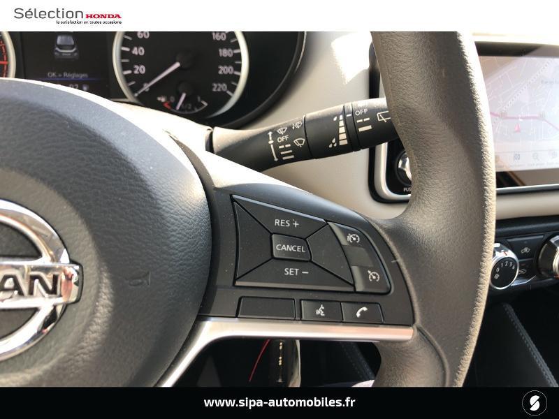 Nissan Micra 1.0 IG-T 100ch N-TEC Xtronic 2020 Argent occasion à Mérignac - photo n°18