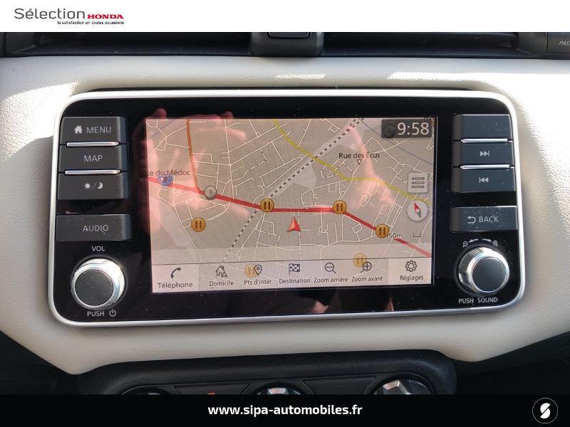 Nissan Micra 1.0 IG-T 100ch N-TEC Xtronic 2020 Argent occasion à Mérignac - photo n°20
