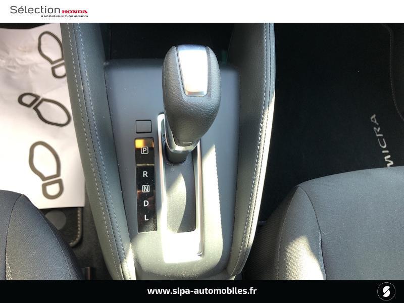 Nissan Micra 1.0 IG-T 100ch N-TEC Xtronic 2020 Argent occasion à Mérignac - photo n°12
