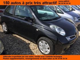 Nissan Micra Noir, garage VOITURE PAS CHERE RHONE ALPES à Saint-Bonnet-de-Mure
