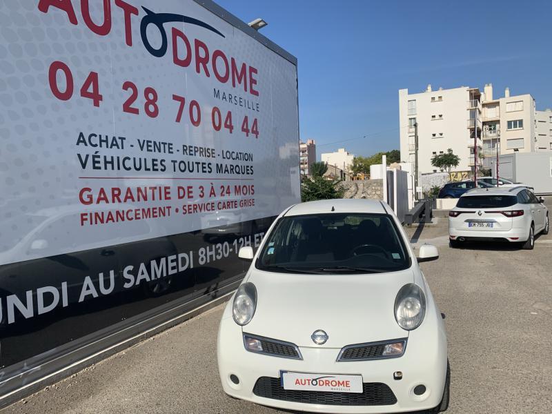 Nissan Micra 1.2 65ch Connect Edition 3p Blanc occasion à Marseille 10 - photo n°8