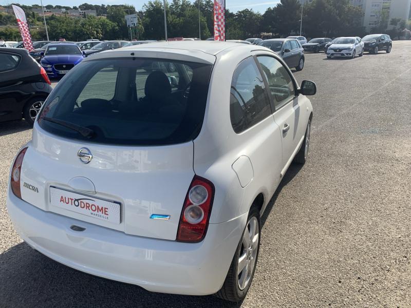 Nissan Micra 1.2 65ch Connect Edition 3p Blanc occasion à Marseille 10 - photo n°2
