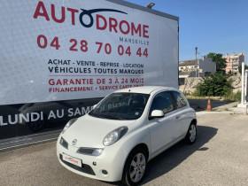 Nissan Micra Blanc, garage AUTODROME à Marseille 10