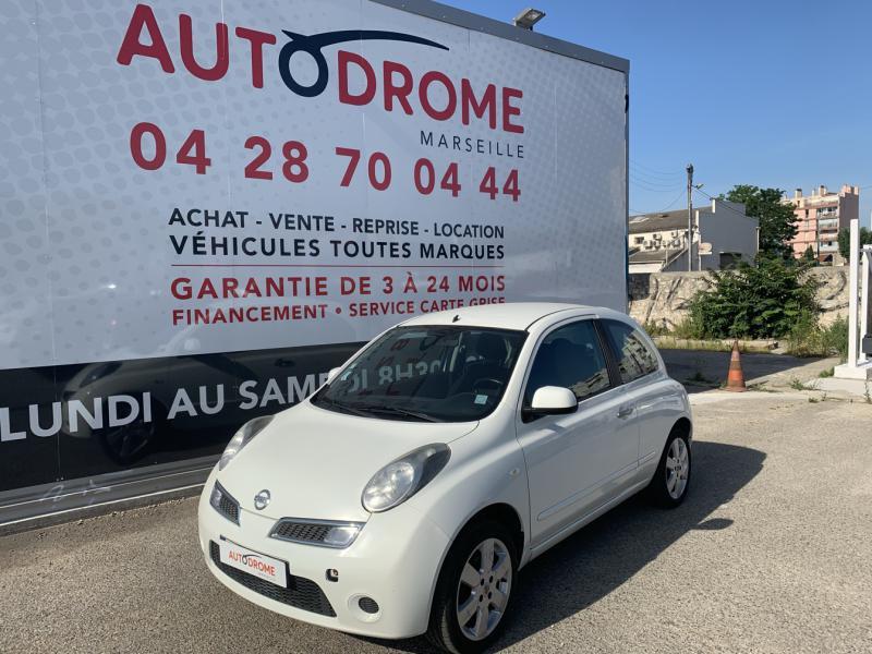 Nissan Micra 1.2 65ch Connect Edition 3p Blanc occasion à Marseille 10