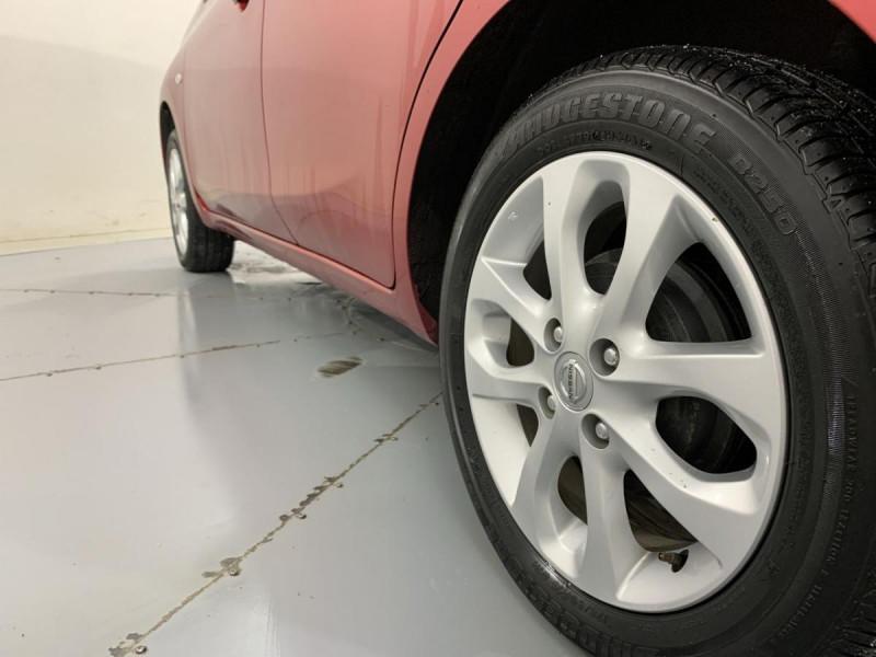 Nissan Micra 1.2 80 ACENTA Rouge occasion à Verfeil - photo n°5