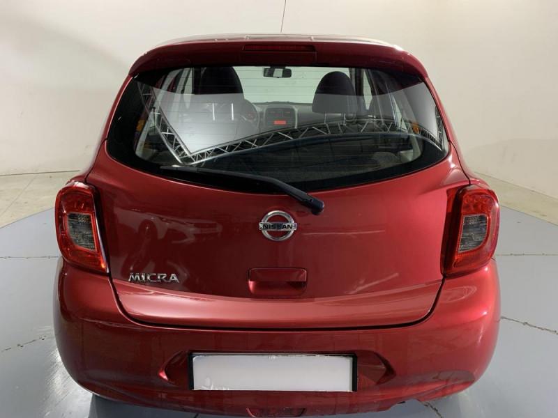 Nissan Micra 1.2 80 ACENTA Rouge occasion à Verfeil - photo n°11