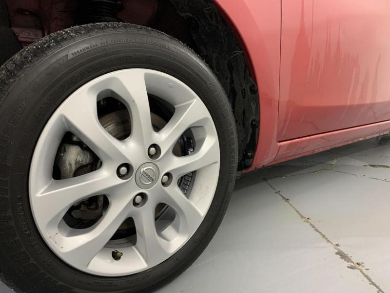 Nissan Micra 1.2 80 ACENTA Rouge occasion à Verfeil - photo n°20