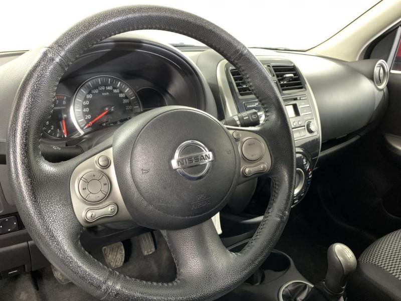 Nissan Micra 1.2 80 ACENTA Rouge occasion à Verfeil - photo n°13