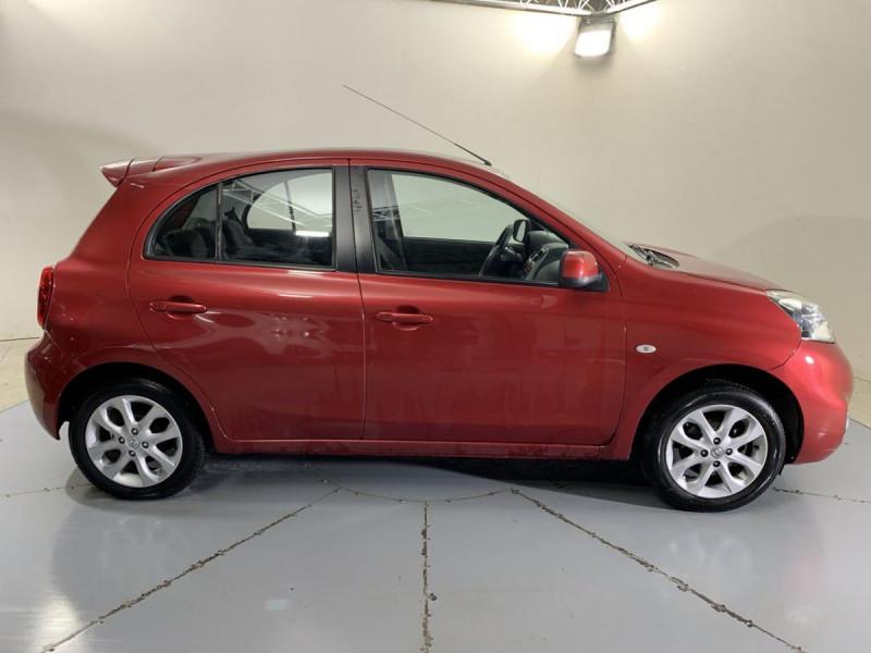 Nissan Micra 1.2 80 ACENTA Rouge occasion à Verfeil - photo n°15