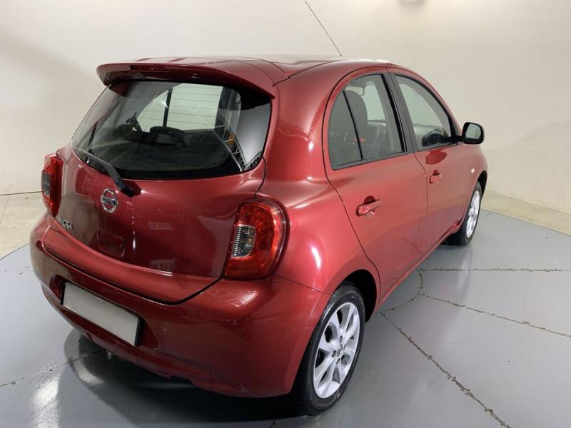 Nissan Micra 1.2 80 ACENTA Rouge occasion à Verfeil - photo n°10