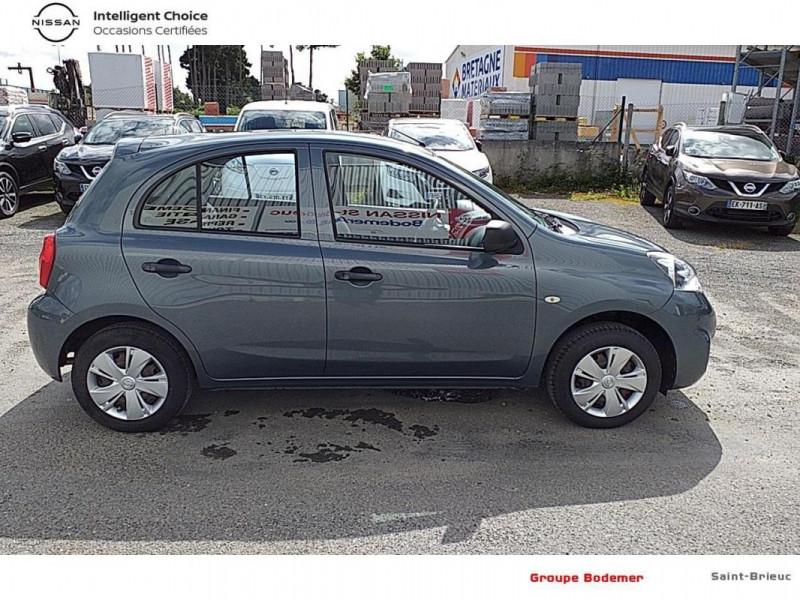 Nissan Micra 1.2 - 80 Visia Pack Gris occasion à SAINT-BRIEUC - photo n°4