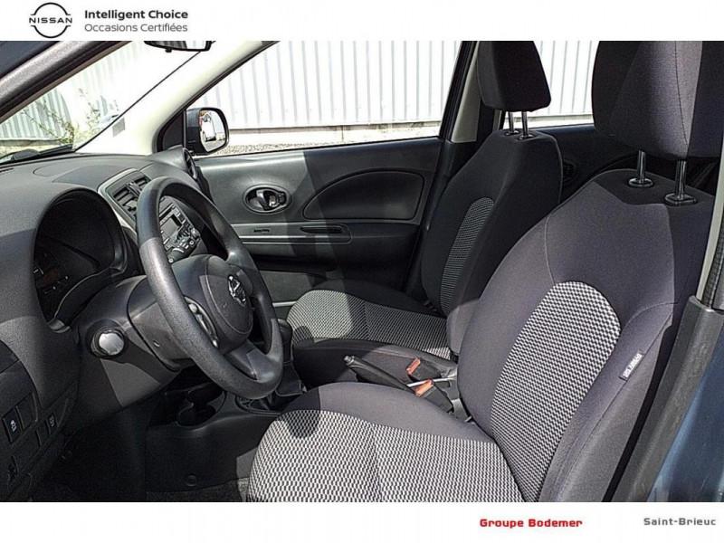 Nissan Micra 1.2 - 80 Visia Pack Gris occasion à SAINT-BRIEUC - photo n°11