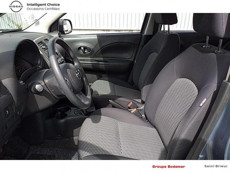 Nissan Micra 1.2 - 80 Visia Pack Gris occasion à SAINT-BRIEUC - photo n°10