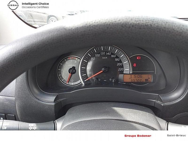 Nissan Micra 1.2 - 80 Visia Pack Gris occasion à SAINT-BRIEUC - photo n°9