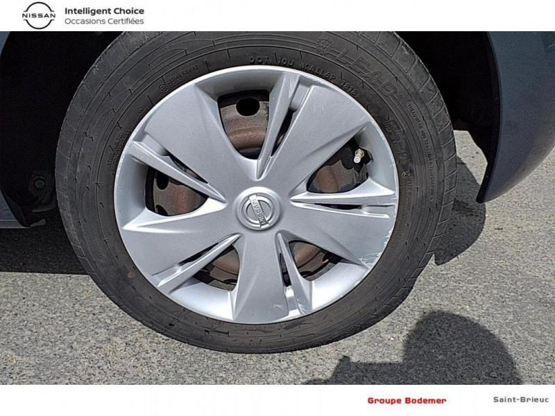 Nissan Micra 1.2 - 80 Visia Pack Gris occasion à SAINT-BRIEUC - photo n°15