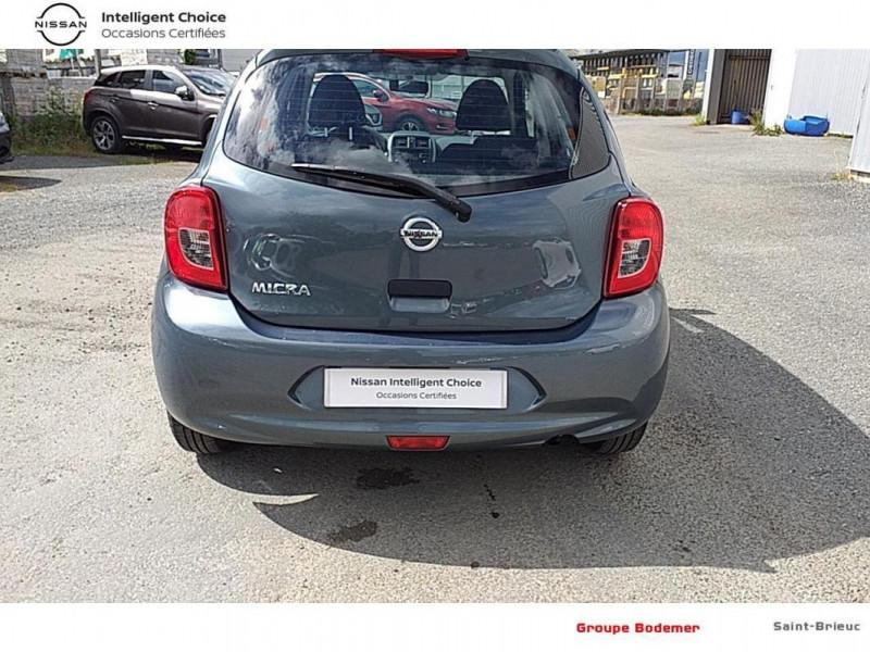 Nissan Micra 1.2 - 80 Visia Pack Gris occasion à SAINT-BRIEUC - photo n°13