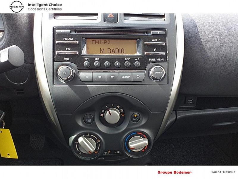 Nissan Micra 1.2 - 80 Visia Pack Gris occasion à SAINT-BRIEUC - photo n°8
