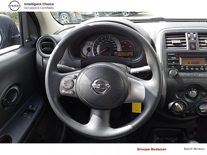Nissan Micra 1.2 - 80 Visia Pack Gris occasion à SAINT-BRIEUC - photo n°7