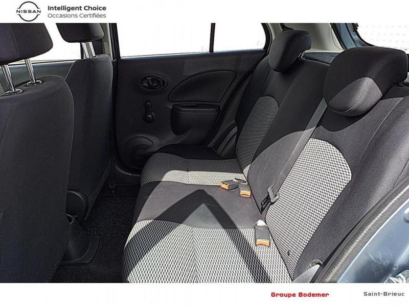 Nissan Micra 1.2 - 80 Visia Pack Gris occasion à SAINT-BRIEUC - photo n°12
