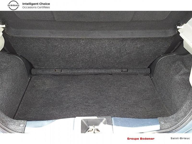 Nissan Micra 1.2 - 80 Visia Pack Gris occasion à SAINT-BRIEUC - photo n°14