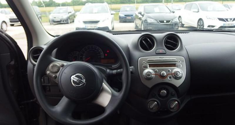 Nissan Micra 1.2 80CH ACENTA Noir occasion à FONTAINE LES GRES - photo n°5