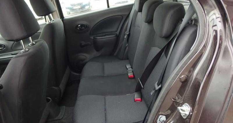 Nissan Micra 1.2 80CH ACENTA Noir occasion à FONTAINE LES GRES - photo n°4