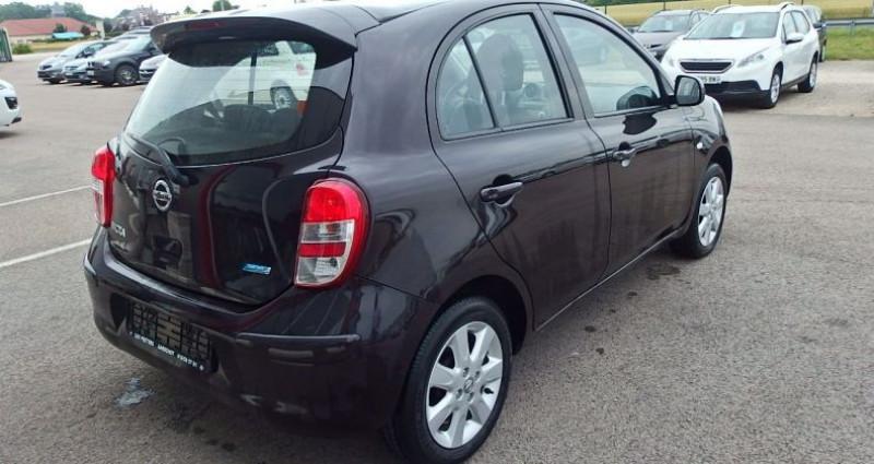 Nissan Micra 1.2 80CH ACENTA Noir occasion à FONTAINE LES GRES - photo n°2
