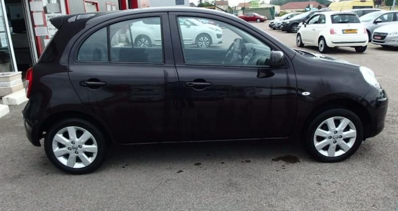 Nissan Micra 1.2 80CH ACENTA Noir occasion à FONTAINE LES GRES - photo n°6