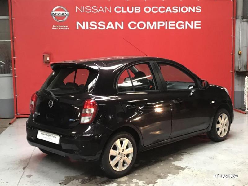 Nissan Micra 1.2 80ch Connect Edition Violet occasion à Venette - photo n°6