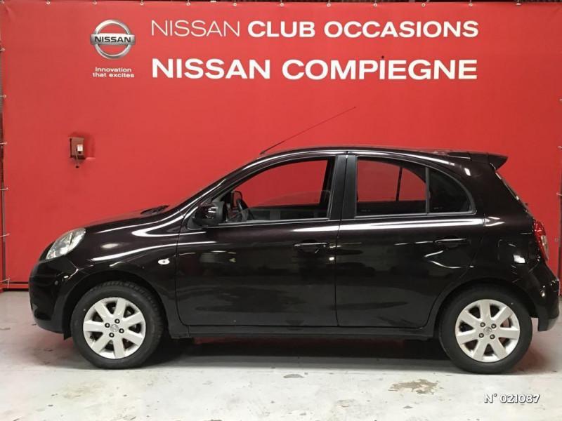 Nissan Micra 1.2 80ch Connect Edition Violet occasion à Venette - photo n°8