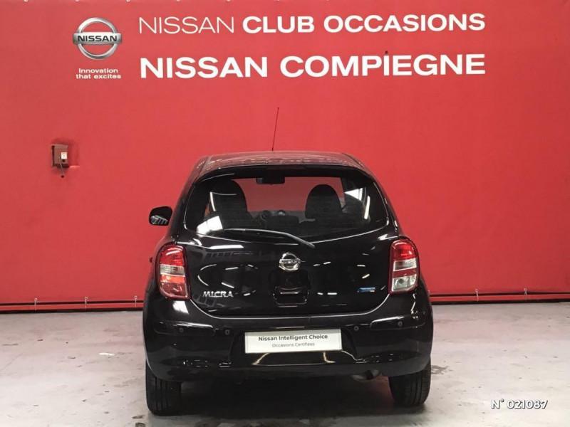 Nissan Micra 1.2 80ch Connect Edition Violet occasion à Venette - photo n°3