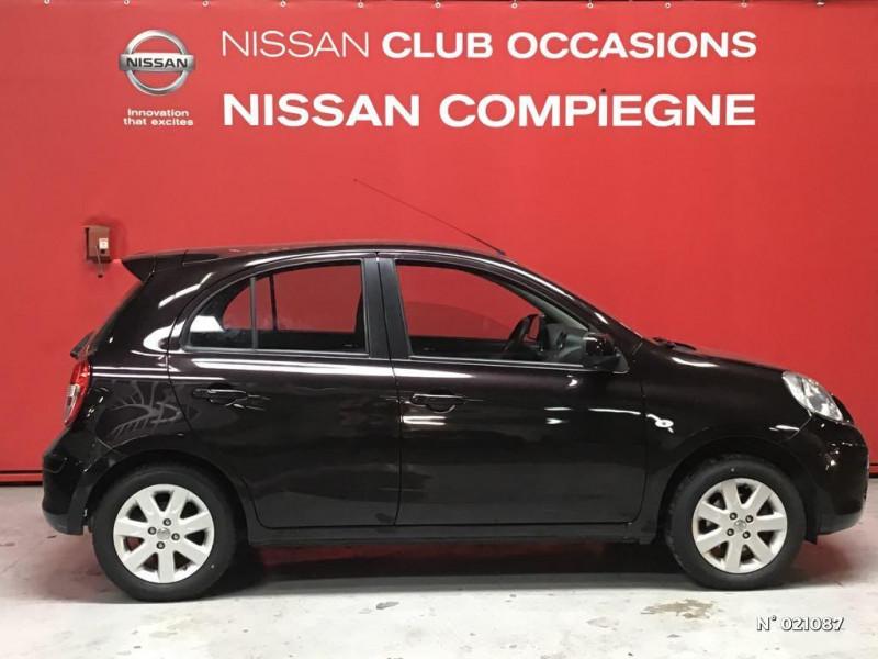 Nissan Micra 1.2 80ch Connect Edition Violet occasion à Venette - photo n°7