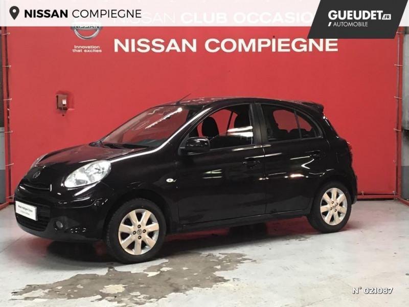 Nissan Micra 1.2 80ch Connect Edition Violet occasion à Venette