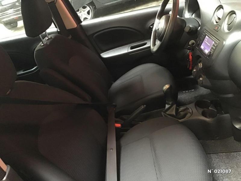 Nissan Micra 1.2 80ch Connect Edition Violet occasion à Venette - photo n°4