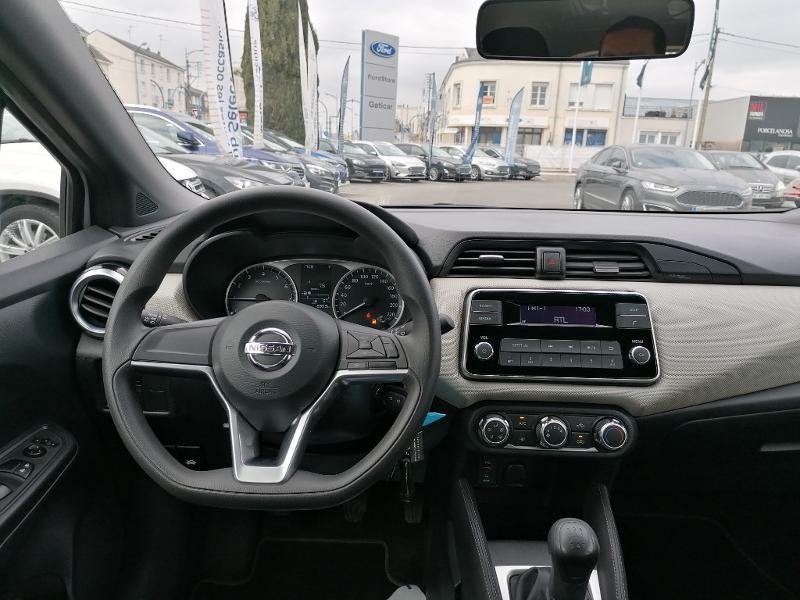 Nissan Micra 1.2 80ch Visia Pack Euro6 Gris occasion à Fleury-les-Aubrais - photo n°7