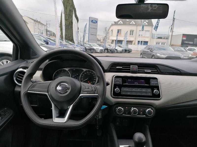 Nissan Micra 1.2 80ch Visia Pack Euro6 Gris occasion à Fleury-les-Aubrais - photo n°8