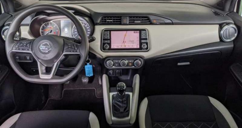 Nissan Micra 1.5 dCi 90 N-Connecta Blanc occasion à SAINT FULGENT - photo n°4