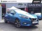 Nissan Micra 1.5 dCi 90ch N-Connecta 2018 Euro6c Bleu à Saint-Quentin 02