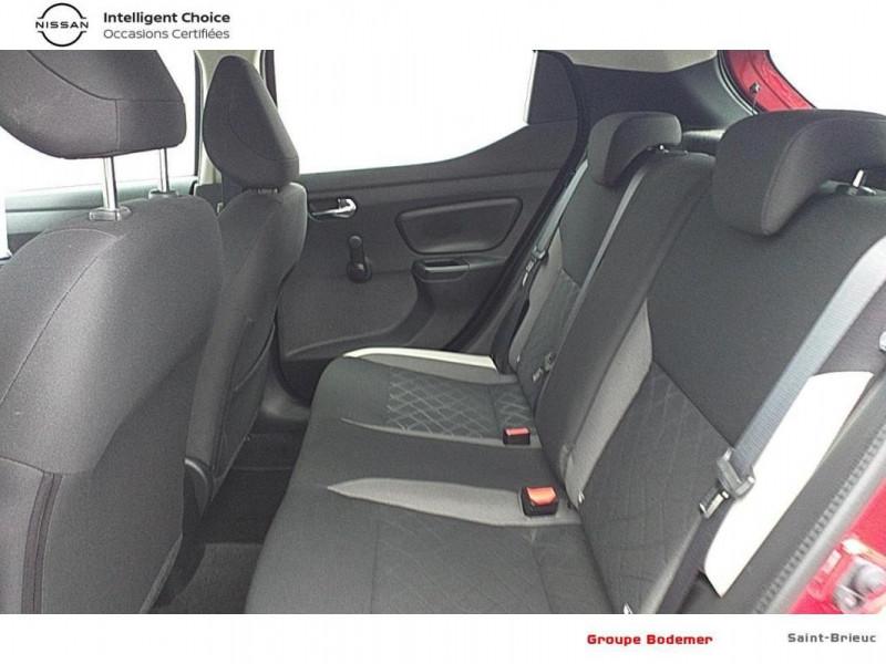 Nissan Micra 2017 1.0 - 71 Acenta Rouge occasion à SAINT-BRIEUC - photo n°12