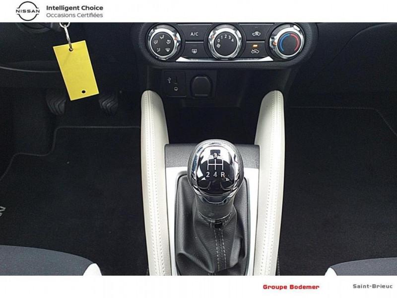 Nissan Micra 2017 1.0 - 71 Acenta Rouge occasion à SAINT-BRIEUC - photo n°10