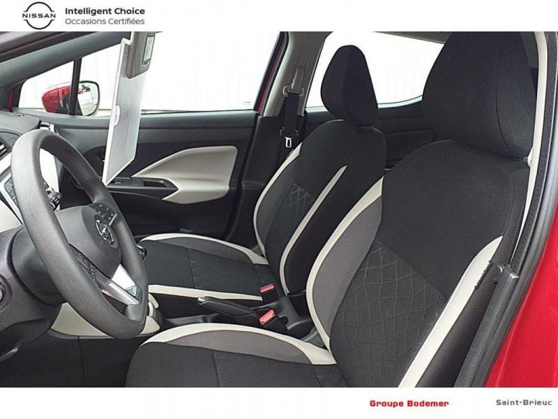 Nissan Micra 2017 1.0 - 71 Acenta Rouge occasion à SAINT-BRIEUC - photo n°11