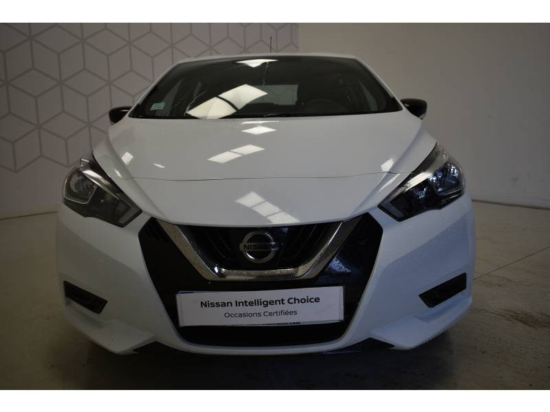 Nissan Micra 2017 1.0 - 71 Visia Pack Blanc occasion à Limoges - photo n°2