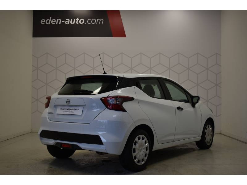 Nissan Micra 2017 1.0 - 71 Visia Pack Blanc occasion à Limoges - photo n°9